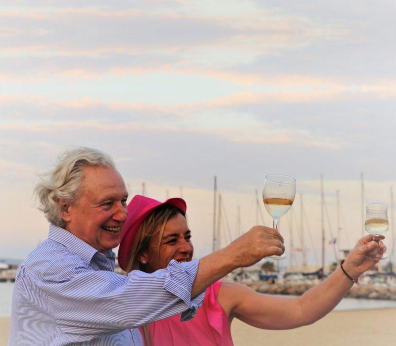 Pascal Debon and Elodie Dieudonné